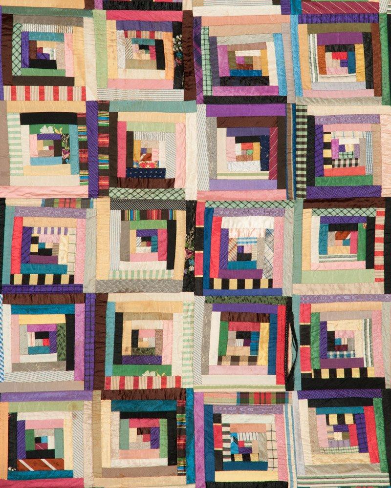 Patchwork Columbia Bicentennial Quilt